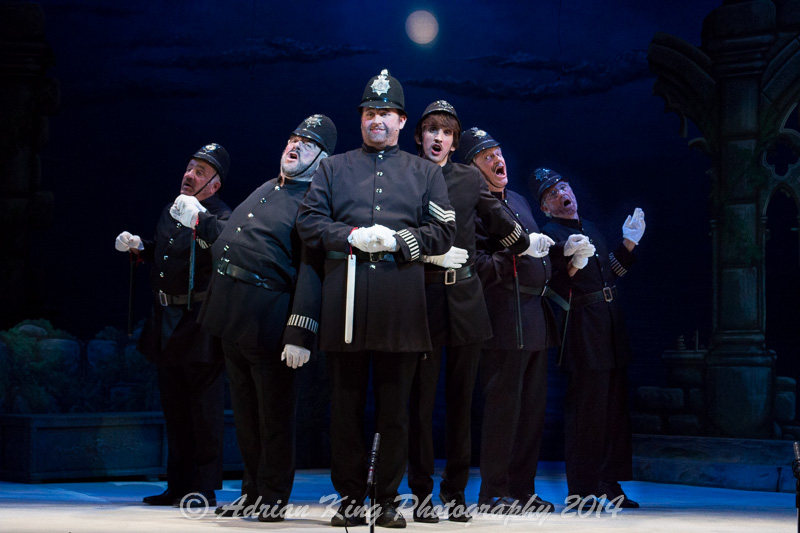 Bournemouth G&S Pirates of Penzance Policemen