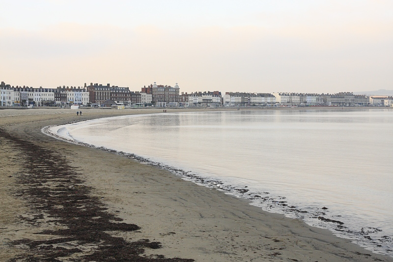 A January Afternoon in Weymouth